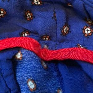 Anthropologie Pants - Royal blue Palazzo pants with gorgeous pattern hem